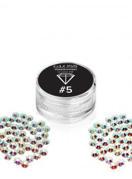 SWAROVSKI Crystal AB 5 50 stk.