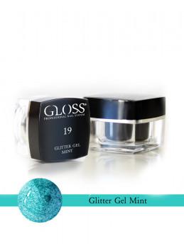 Glitter Gel Mint 19
