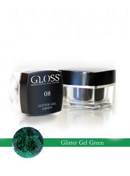 Glitter Gel Green 08