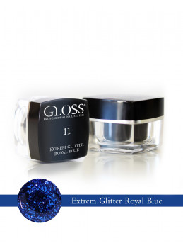 Extrem Glitter Royal Blue 11