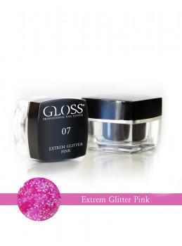 Extrem Glitter Pink 07