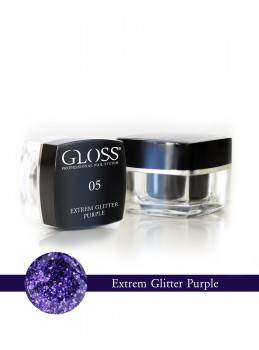Extrem Glitter Purple 05