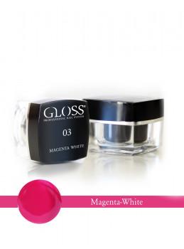 Magenta - White 03