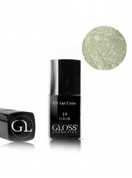 Gloss UV Gel Color 19 med pensel