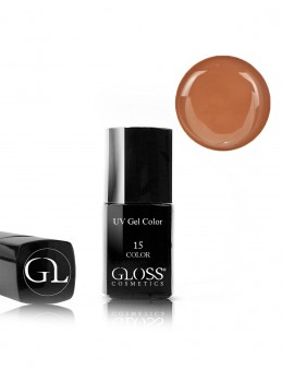 Gloss UV Gel Color 15 med pensel