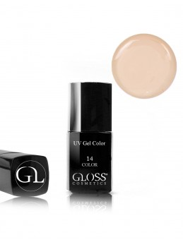 Gloss UV Gel Color 14 med pensel
