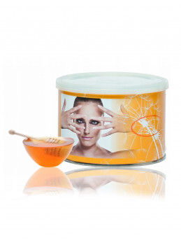 Depilatory wax can 400g - Honey