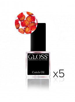 Cuticle oil - RED x 5