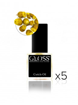 Cuticle oil - Yellow x 5