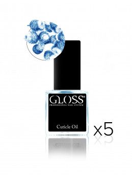 Cuticle oil - Blue x5