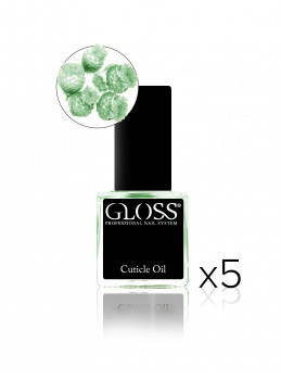 Cuticle oil - Green x 5