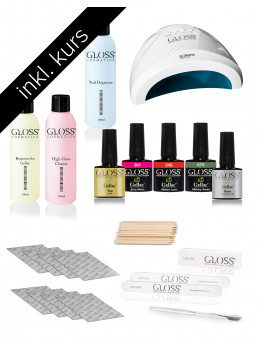 Course Set Gel Lakk / Gel Polish /GELLAC BASIC