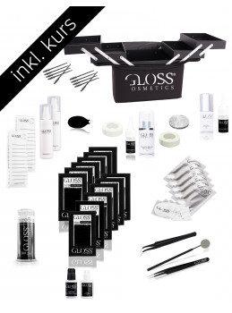 Course KOMBO Set Gloss Lashes 1:1 Classic & 3-7D Volume...