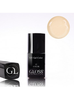 Gloss UV Gel Color 12 med pensel