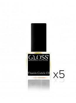 Vitamin Cuticle Oil Yellow x5