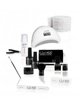 Startsett / Gloss Uv Gel Basic
