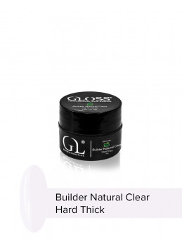 Builder Natural Clear Hard Thick 5ml
