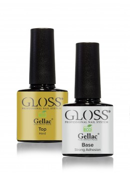 Gellac Base and Top | Gloss Cosmetics Nettbutikk