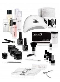 Neglesett til manicure & pedicure | nettbutikk Gloss Cosmetics