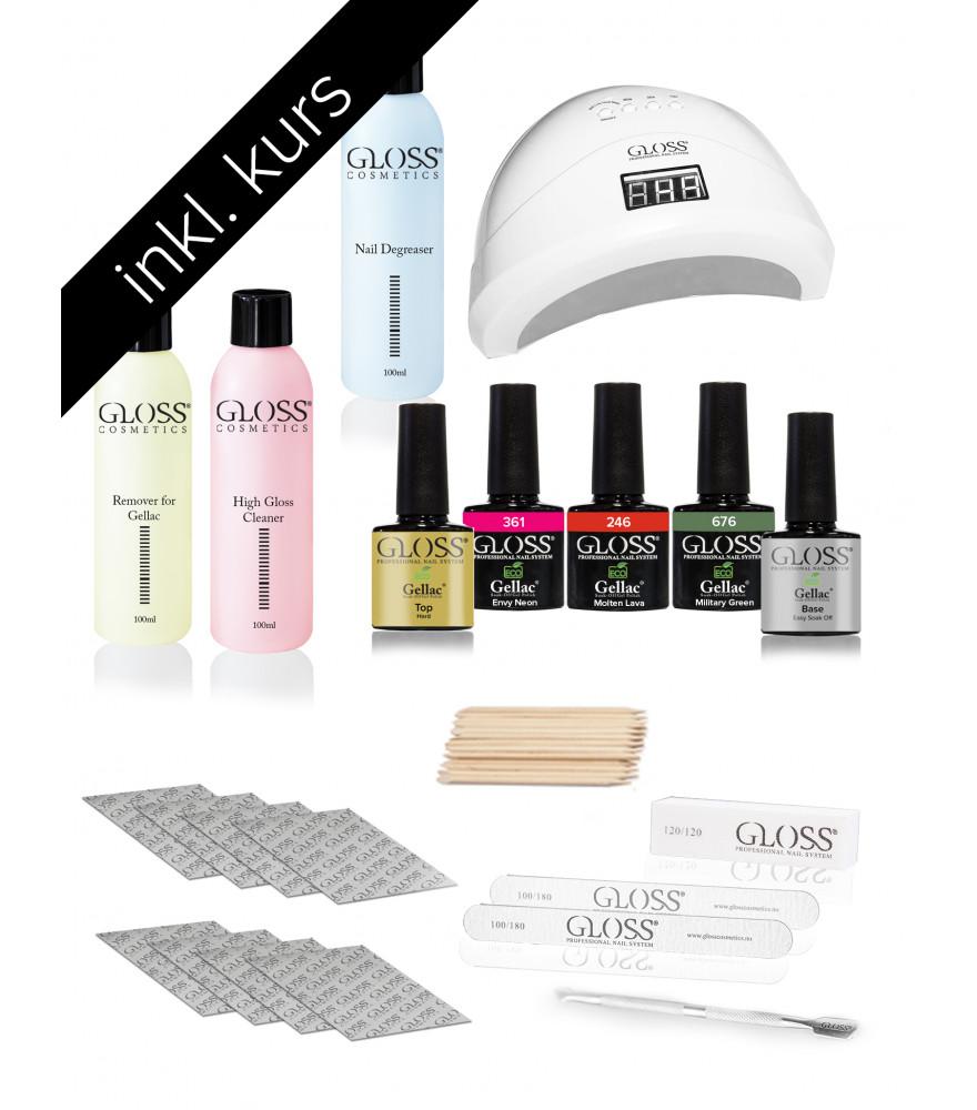 Kurs Pakke Gel Lakk / Gel Polish /GELLAC BASIC